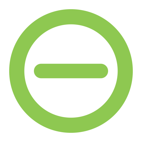 Golden Grove Electrical and Data Services - Golden Grove Electricians. Green minus icon in a green circle.