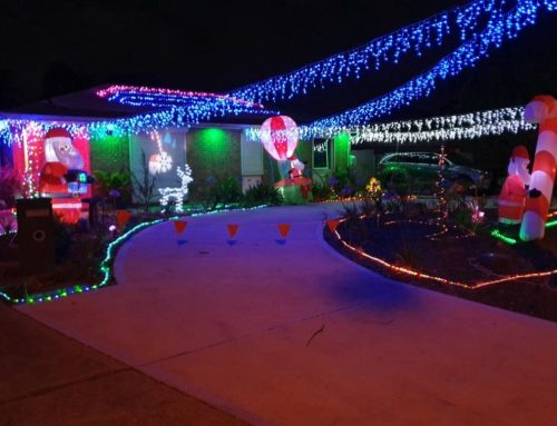 Guess how many Christmas lights are up to win a $100 voucher from Golden Grove Electrical and Data Services